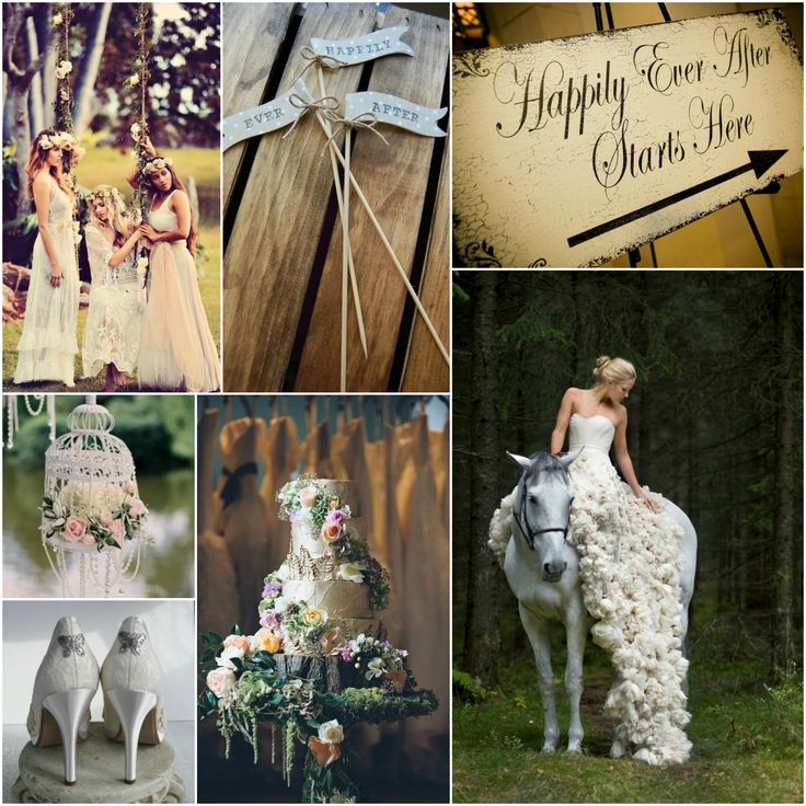 Enchanted Woodsy Fairy Tale Wedding Inspiration