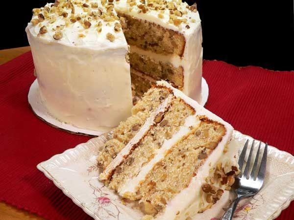 Black Walnut Cake Recipe Walnut Recipes Cake Recipes Black