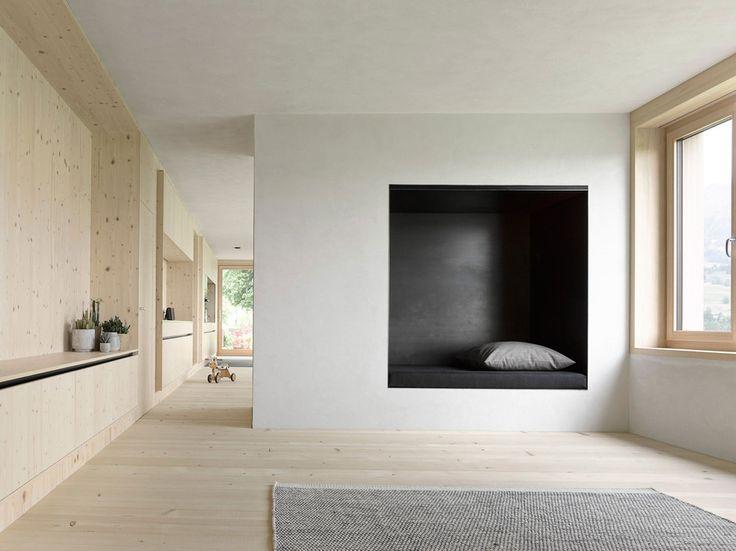 Maison individuelle / Innauer-Matt ArchitektenVillage de Egg