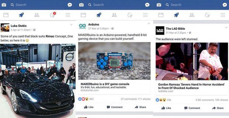 Facebook e la sua nuova icona del razzo: ecco cosè e come funziona questa nuova bacheca su iOS e Android