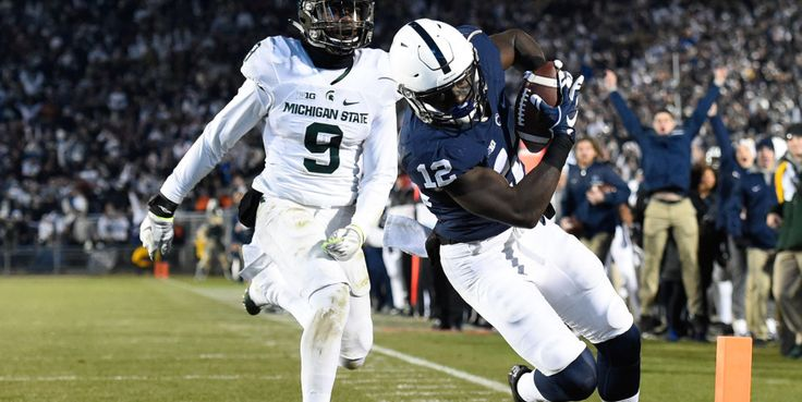 With a victory on Saturday, Penn State earned its first Big Ten Football Championship Game berth and a share of the East Division title and will meet Wisconsin on Saturday, Dec. 3, at Lucas Oil Stadium in Indianapolis.