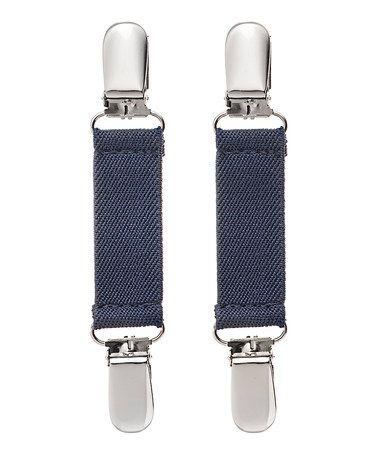 Look what I found on #zulily! Navy Blue Glove Clip Set #zulilyfinds