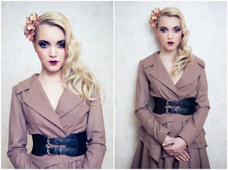 ruffles, skirt, office, blonde, hands, inspiration, entitled bully, waist, arina varga, fashion, jacket, make-up, flower