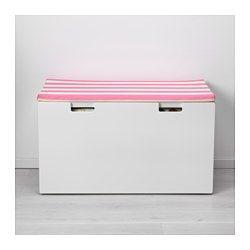 IKEA - HEMMAHOS, Zitkussen voor bank, , Maakt van een bank een zachte, comfortabele zitplaats. Zeer geschikt voor bij de STUVA bank.De hoes is door de rits makkelijk te verwijderen voor de was.De polyester vulling behoudt zijn vorm en geeft zachte ondersteuning aan het lichaam van je kind.Blijft door de antisliponderkant stevig op zijn plaats liggen.