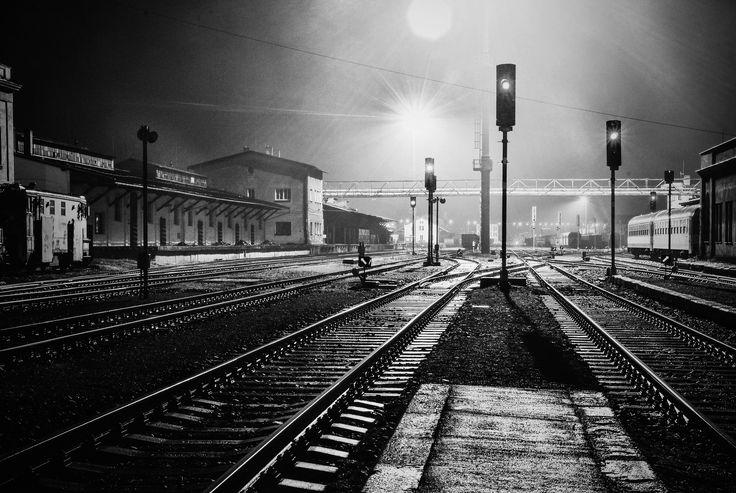 Liberec | Train station - It was rainy outside