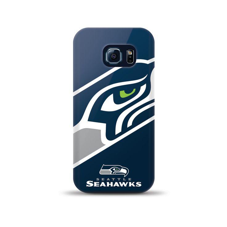 Samsung Galaxy S6 Edge Nfl Oversized Snapback Tpu Case Seattle Seahawks