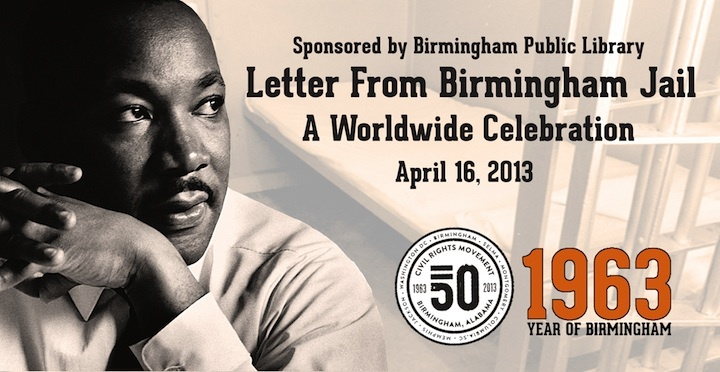 Official graphic for the worldwide reading of Dr. King's