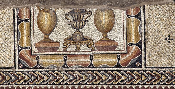 Particolare del Mosaico di Lod | Artribune