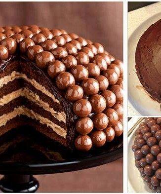 Come fare torta al cioccolato con praline - Spettegolando
