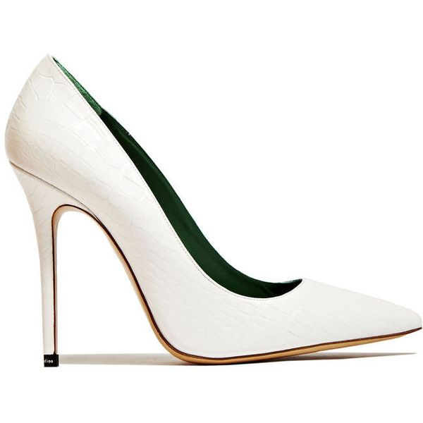 17 best ideas about White Pumps Shoes on Pinterest | White lace ...