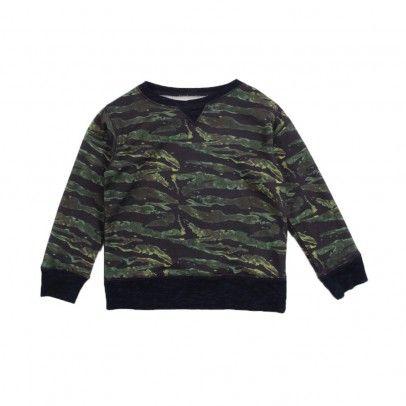 Mobi Camouflage sweatshirt Midnight blue  Bellerose