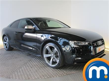 Used or Nearly New Audi A5 S5 Quattro Black Edition Coupe S Tronic Black for sale in Chingford | Motorpoint