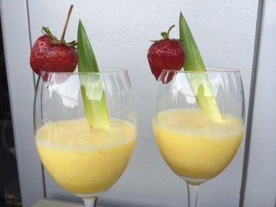 Ananas, gember en citroen een gezond sapje