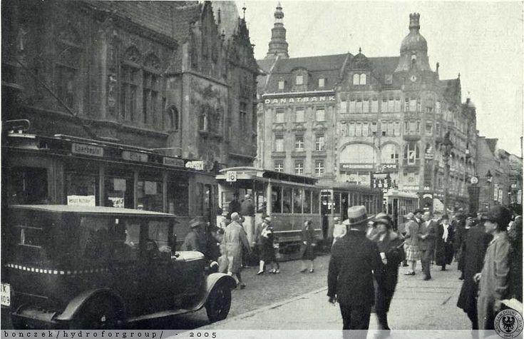 Rynek i różne tramwaje czyli smak dla Neo.Rok 1929
