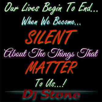 When We Become Silent