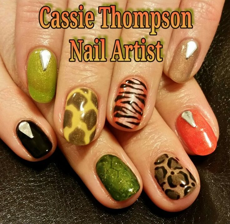 528 best 1 cassie thompson nail artist of vancouver wa images on jungle animal gel mani by cassie thompson nail artist of vancouver wa follow me on instagram prinsesfo Image collections