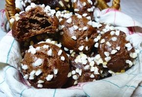 Chouquettes au chocolat sans gluten et sans lactose
