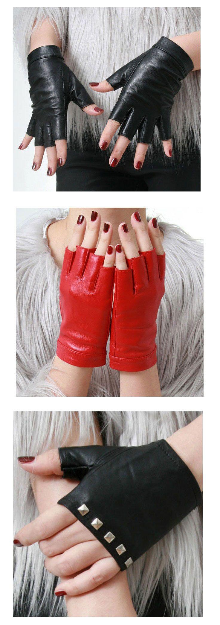 Shop punk leather gloves at RebelsMarket.
