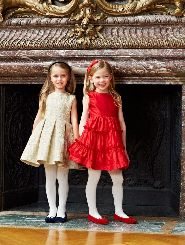 Oscar de la Renta childrenswear on Moda Operandi