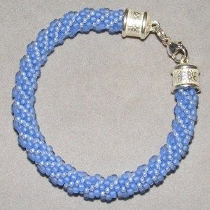 Bead Crochet Patterns - Jewelry Making Instructions: How to make the rope pattern