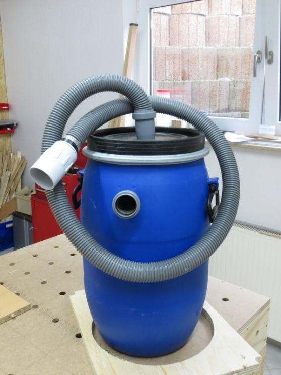Ein kleiner Tipp für die Zyklonabsaugung – Bauanleitung zum Selberbauen – 1-2-d… – Manfred Behrends
