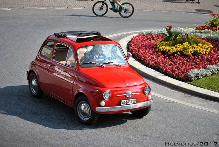 Fiat 500 - Switzerland, Valais