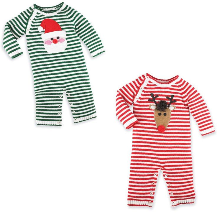 Adorable first Christmas outfit!! Mud Pie Knit One Piece