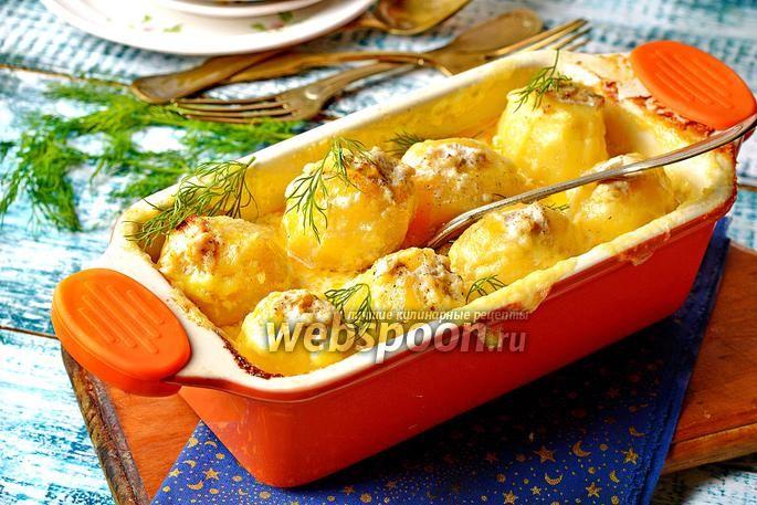 Photo Stuffed potatoes