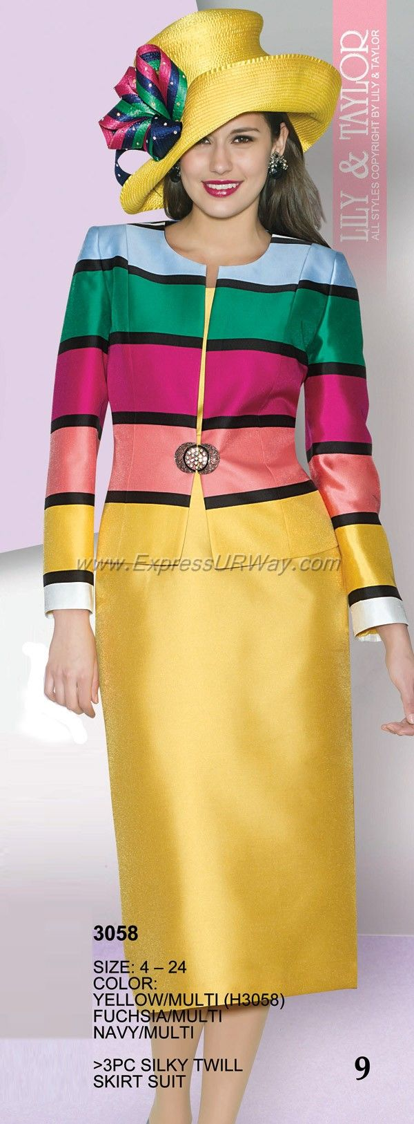 Mode Collection by Lily and Taylor for Spring 2014 - www.ExpressURWay.com - Lily…