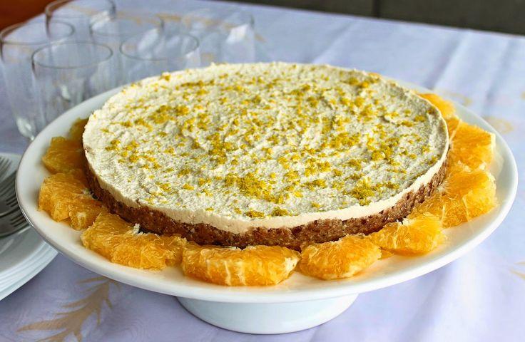 cheesecake cru vegano (sem glúten e açúcar refinado) - Melinda na Cozinha