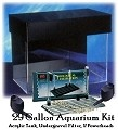 29 GALLON AQUARIUM KIT    $284.76  Just Add Gravel, Water and Fish   The 29 Gallon Aquarium Kit:    SeaClear 29 Gallon Rectangular Show Acrylic Aquarium with hood