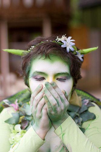 """""""la fée verte"""" (the green fairy) at the Bristol Renaissance Faire"""