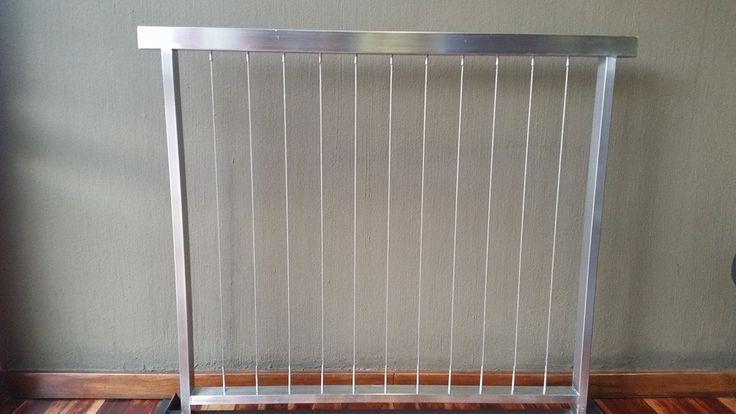 Vertical line stainless steel balustrade design #balustrades