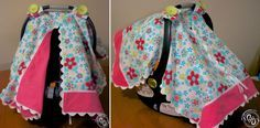Girl Carseat Canopy