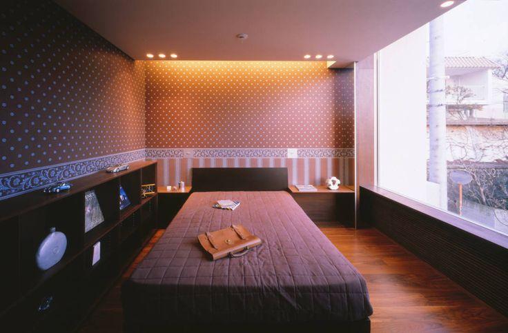 Mアーキテクツ|高級邸宅 豪邸 別荘 LUXURY HOUSES | M-architects の モダンな 寝室 百日紅の家