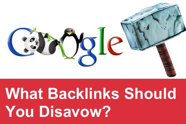 Penalized by Google? Want to clean up your backlinks profile from the links that you don't endorse?  In this article we are going to show a few examples of backlinks that can be a potential threat to your website, and how you can identify the backlinks that you should disavow using Google Webmaster Tools.