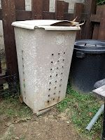 My Home My Garden My Rules: Modification of a small compost bin