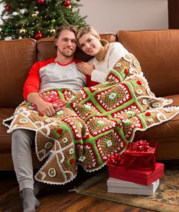 Christmas Crochet from Red Heart Yarn – 28 free patterns – Grandmother's Pattern Book