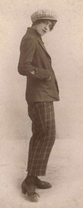 1920's Garconne Style