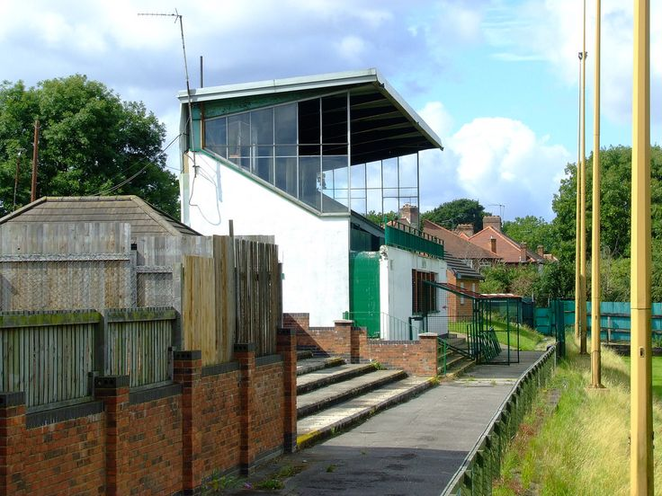 The old Edgware Town Football Club now disused.