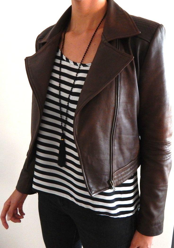 NV Custom Leather Jacket…taking orders... $300