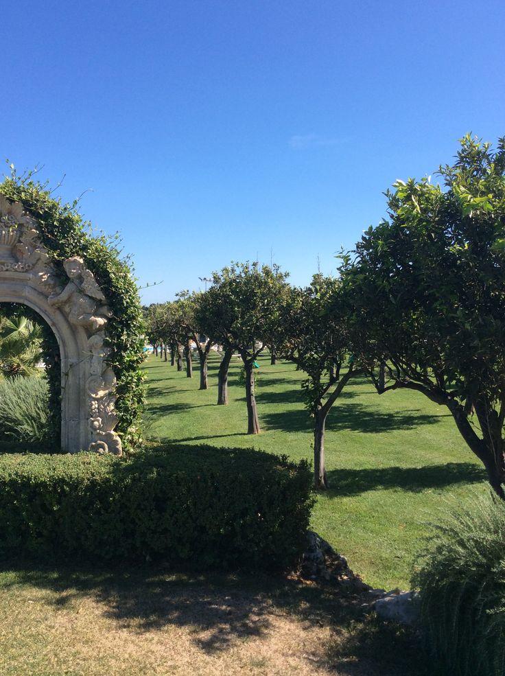 Hotel Borgo Pantano (garden) Sicily