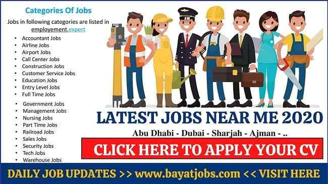 Jobs Near Me Latest Careers Openings In Uae Below Job Airline Jobs Education Jobs