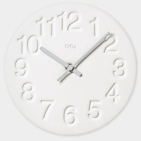 diatomite clock, yuichi nara
