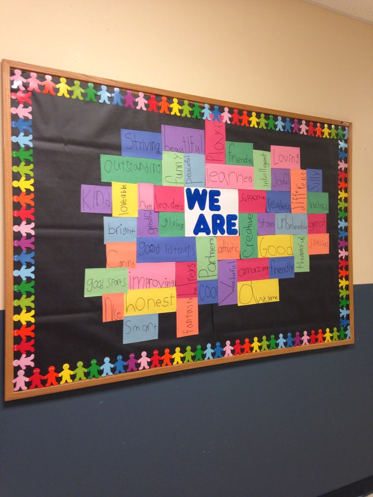 Classroom Decoration Ideas For Nursery School ~ School spirit pride bulletin board boards ideas