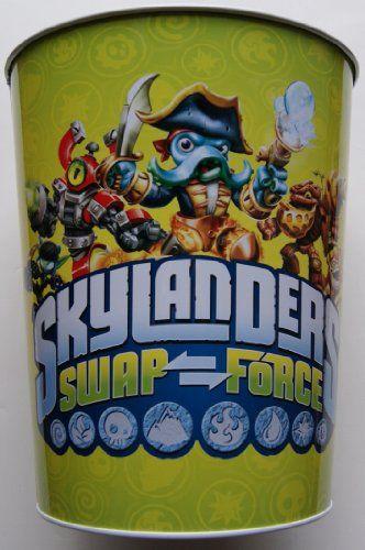 Skylanders Swap Force Bedroom Bathroom Garbage Can Waste Bin Skylanders  http   www. 8 best Skylanders bedroom ideas images on Pinterest   Bedroom