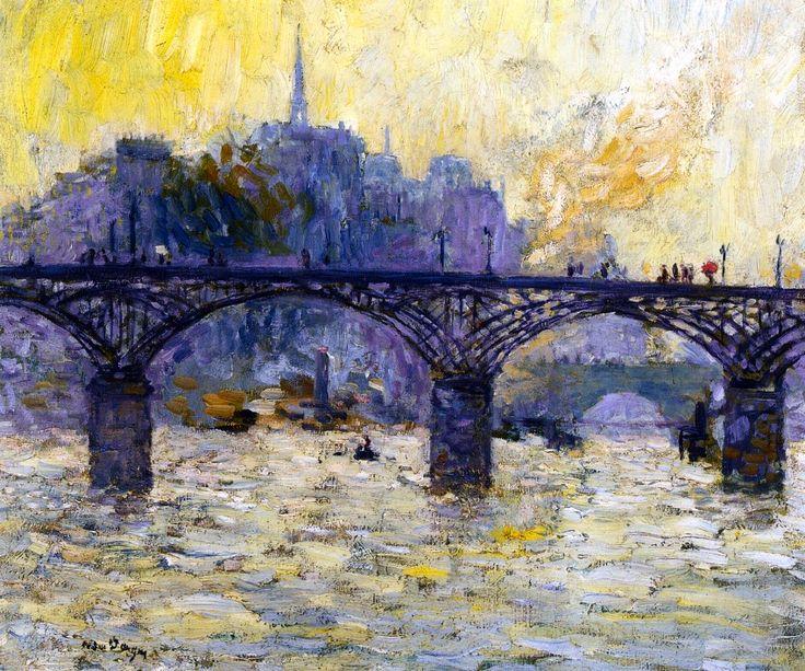 Paris, Le Pont des Arts - Kees Van Dongen