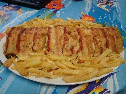 Baconos Csirkemell Őzgerinc formában :: Ami a konyhámból kikerül