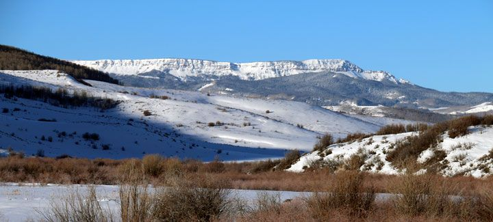One fine day. Flat Tops Wilderness near Steamboat Springs, Colorado