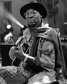 Ali Farka Toure was a singer and guitarist from Mali.  Malian music met the blues and something beautiful was made.